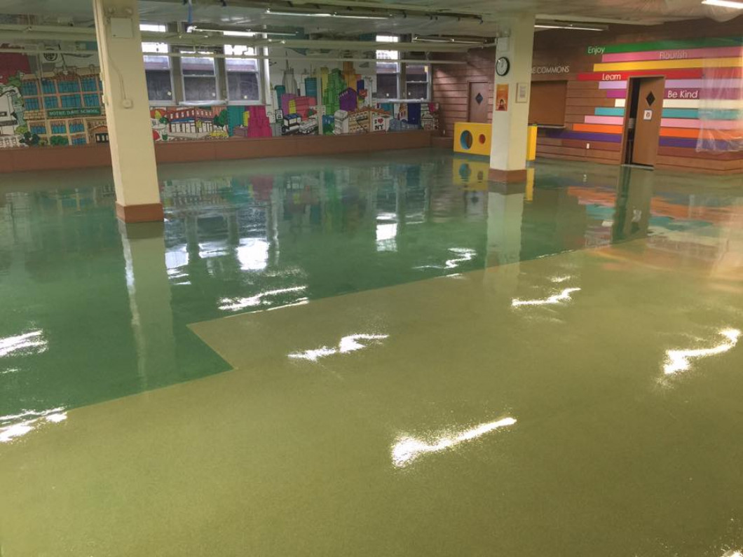 Epoxy Flooring Solutions in Ridgefield Park and New Brunswick, New Jersey